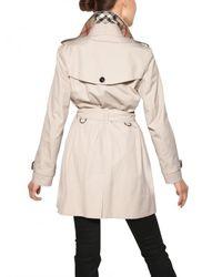 Burberry - White Buckingham Cotton Gabardine Trench Coat - Lyst