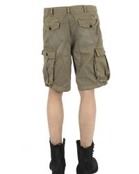 Closed | Green Light Gabardine Cargo Shorts for Men | Lyst