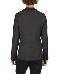 Dior Homme - Gray Lightweight Wool Jacket for Men - Lyst