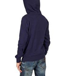 Dior Homme | Blue Beautiful Print Hooded Fleece Sweatshirt for Men | Lyst