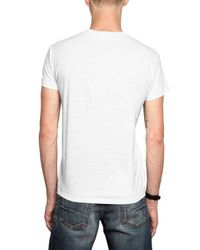 Dior Homme | White Bee Embroidered V Neck Jersey T-shirt for Men | Lyst