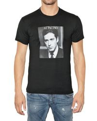 Dolce & Gabbana | Black Al Pacino Printed Tee for Men | Lyst