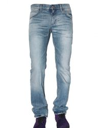 Dolce & Gabbana | Blue 19cm Basic Denim Gold Fit Jeans for Men | Lyst