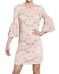 Dolce & Gabbana | Natural Cotton Lace Dress | Lyst