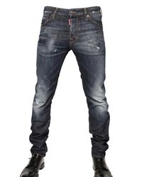 DSquared² | Blue 16,5cm Brushed Denim Cool Guy Jeans for Men | Lyst