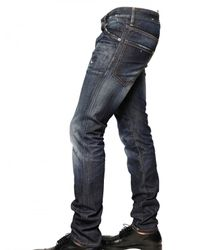 DSquared² - Blue 16,5cm Brushed Denim Cool Guy Jeans for Men - Lyst