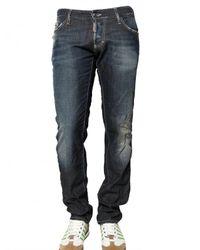 DSquared² | Blue 19cm Slim Fit Lightweight Denim Jeans for Men | Lyst