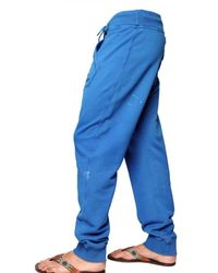 DSquared² | Blue Painted Fleece Jogging Trousers for Men | Lyst