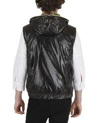 Duvetica - Black Anceo Hooded Nylon Sport Vest for Men - Lyst