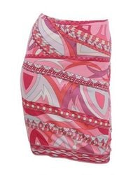 Emilio Pucci | Pink Skirt | Lyst