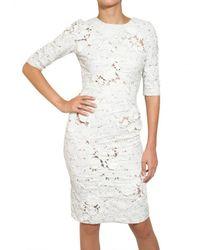 Erdem | White Beaded Embroidered 3d Macrame Dress | Lyst