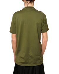 Givenchy | Green Birds Of Paradise Oversized Jersey T-shirt for Men | Lyst