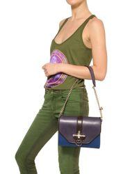Givenchy - Purple Obsedia Leather Shoulder Bag - Lyst