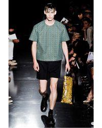 Jil Sander - Black Pvc and Python Tote Bag for Men - Lyst