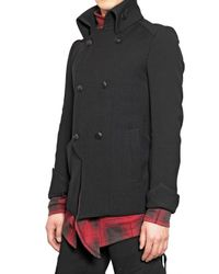 Kiryuyrik - Black Stretch Gabardine Jacket for Men - Lyst