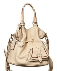 Lancel | Natural Premiere Flirt Grained Leather Shoulder | Lyst
