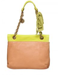 Lanvin - Green Happy Medium Leather Shoulder Bag - Lyst