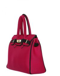 Leghilà | Red B-bag Small Neoprene Top Handle | Lyst