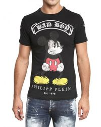 Philipp Plein | Black Cloud Lake T-shirt for Men | Lyst