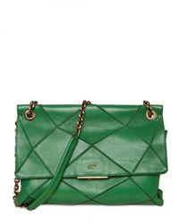 Roger Vivier   Green New Prismic Leather Small Shoulder Bag   Lyst