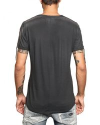 Tom Rebl | Gray Printed Jersey T-shirt for Men | Lyst