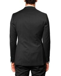 Tonello - Black Stretch Wool Canvas Tuxedo Suit for Men - Lyst