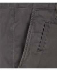 AllSaints - Brown Pipe Chino for Men - Lyst
