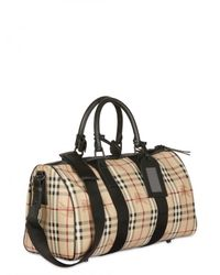 Burberry - Black Boston 45 Hwb Bag for Men - Lyst