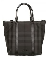 Burberry | Black Inverey Tote Bag for Men | Lyst