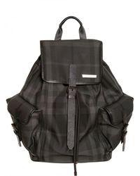 Burberry | Black Smallpenkill Backpack for Men | Lyst