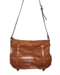 Burberry | Brown Pasmore Leather Shoulder Bag | Lyst