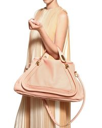 Chloé | Pink Large Paraty Top Handle | Lyst
