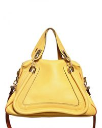 Chloé | Yellow Paraty Military Strap Top Handle | Lyst
