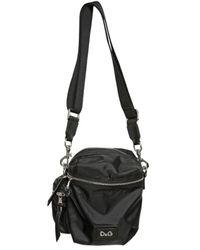 Dolce & Gabbana - Black Nylon Small Shoulder Bag for Men - Lyst