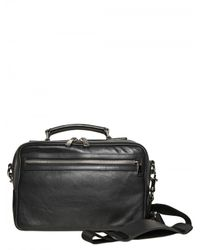 Dolce & Gabbana | Black Leather Shoulder Bag for Men | Lyst