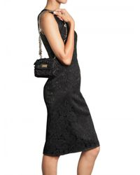 Dolce & Gabbana | Black Miss Charles Shoulder Bag | Lyst