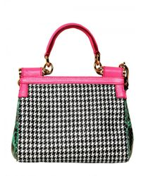 Dolce & Gabbana - Multicolor Mini Miss Sicily Top Handle - Lyst