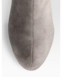 Dolce Vita | Black Suede Block-heel Knee-high Boots | Lyst