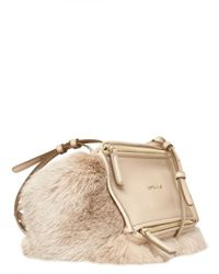 Givenchy - Natural Pandora Rabbit Mini Shoulder Bag - Lyst