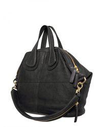 Givenchy - Black Nightingale Medium Smooth Top Handle - Lyst