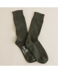 J.Crew | Green Corgi™ Cashmere Socks | Lyst