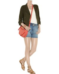 J.Crew - Green Silk and Cotton-Blend Military Jacket - Lyst