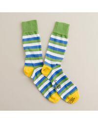 J.Crew | Green Corgi™ Lightweight Pattern Socks for Men | Lyst