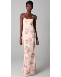 JOSEPH | Multicolor Blush Hand-painted Floral Dress | Lyst