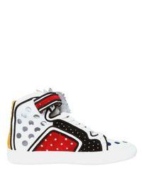 Pierre Hardy | Multicolor Powrama Suede Sneakers for Men | Lyst