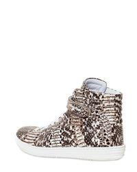 Pierre Hardy - Brown Water Snake Sneakers for Men - Lyst