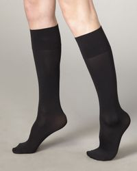 Wolford | Black 50 Denier Leg-support Socks | Lyst