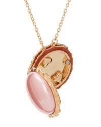 Disaya - Pink Macaroon Pendant - Lyst
