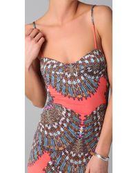 Mara Hoffman | Pink Fitted Midi Dress | Lyst