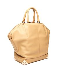 Alexander Wang - Natural Emile Leather Tote, Large - Lyst